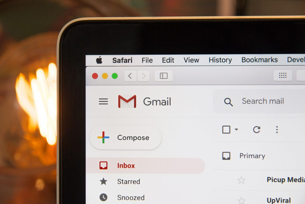 How to send and receive professional emails using Gmail